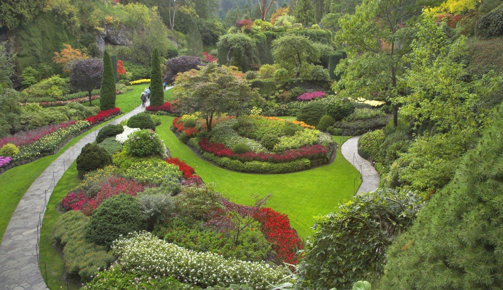 Feng shui articles real estate flowers in your garden for Feng shui garden layout