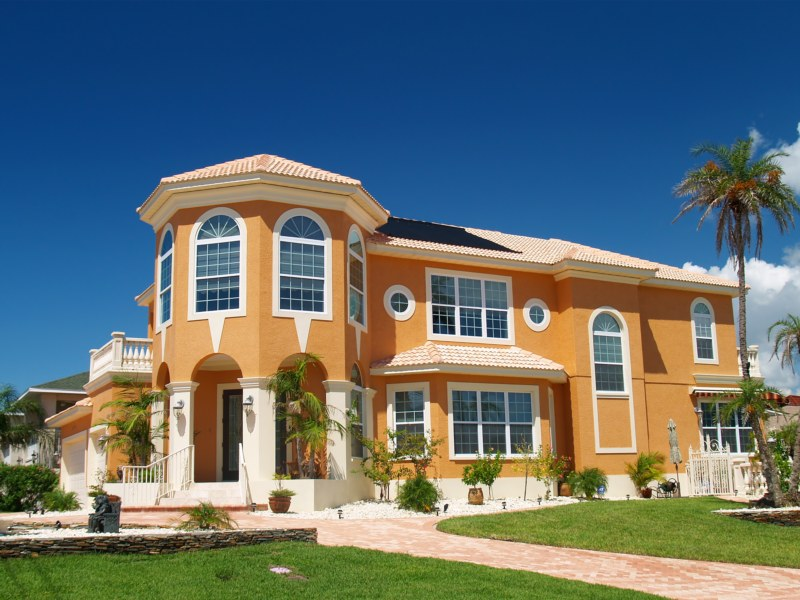 Feng shui articles real estate best colors for buildings for Feng shui in building a house